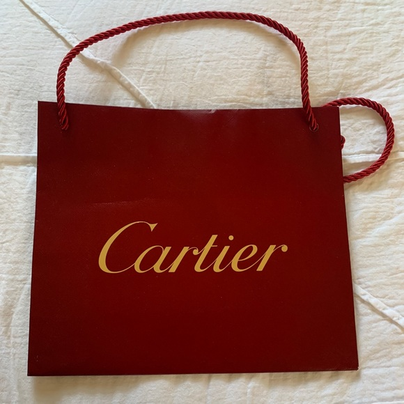 Cartier Other - Cartier Shopping Bag